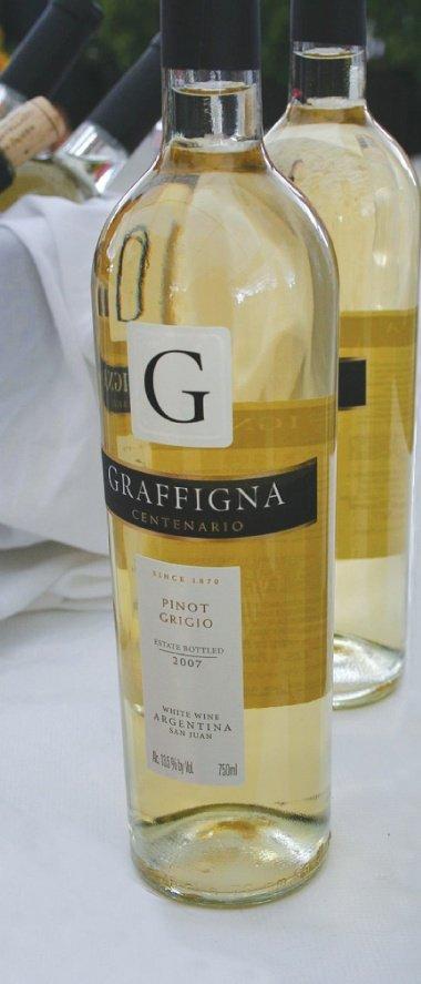 graffigna centenario pinot grigio 20071 Review: 2007 Graffigna Centenario Pinot Grigio