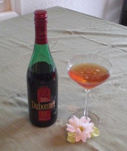 fat like buddha cocktail 252x300 Review: Dubonnet Rouge