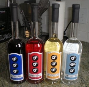triple eight vodka lineup 300x294 Review: Triple Eight Vodkas