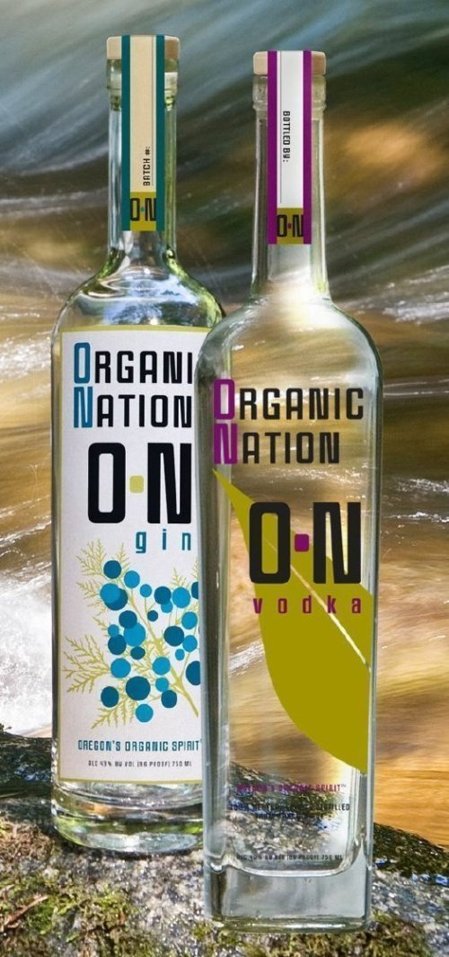 organic nation vodka and gin Review: Organic Nation O N Vodka and Gin