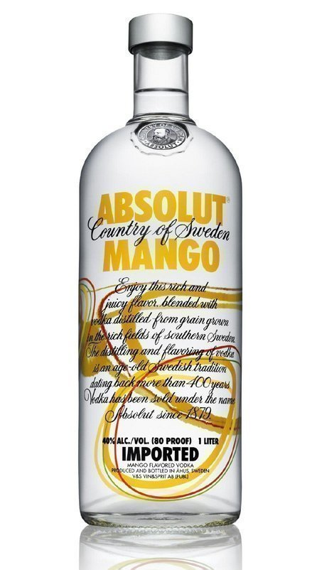 absolut mango Review: Absolut Mango