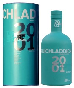 bruichladdich 2001 251x300 Review: Four New Bruichladdich Scotch Expressions