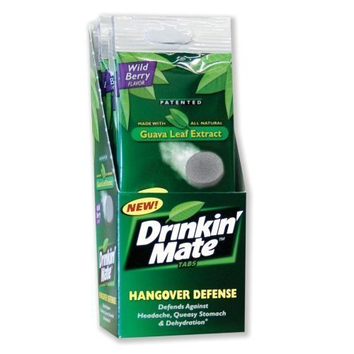 drinkin mate Review: Drinkin Mate Hangover Defense