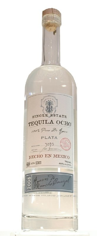 tequila ocho single estate plata Review: Tequila Ocho Plata Single Estate 2008 and 2009