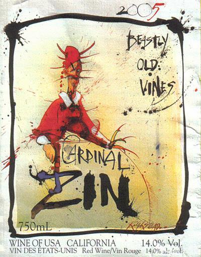 2006 cardinal zin wine Review: 2006 Bonny Doon Cardinal Zin