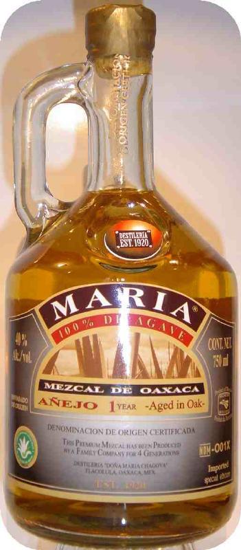 maria anejo mezcal Review: Maria Mezcal Anejo