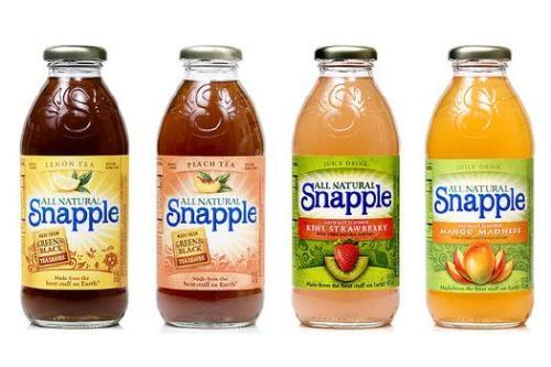 snapple tea natural Snapple Goes Natural