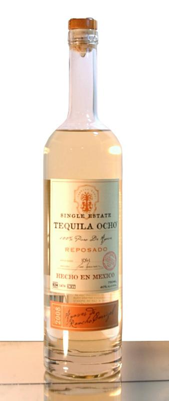tequila ocho reposado 2008 Review: Tequila Ocho Single Estate Reposado 2009