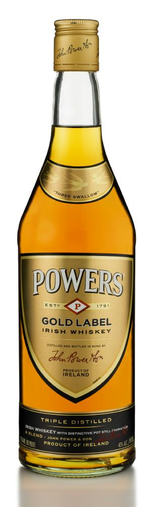powers gold label irish whiskey Review: Powers Gold Label Irish Whiskey