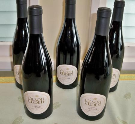 olson ogden 2007 wines Tasting