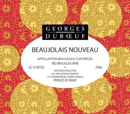 2009 Georges DuBoeuf Beaujolais Nouveau 2009 Beaujolais Nouveau Arrives