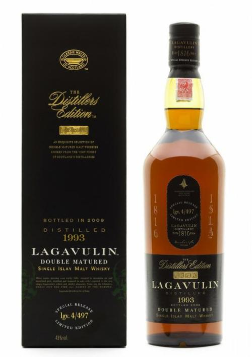 lagavulin distillers edition 1993 Review: Lagavulin Distillers Edition 1993
