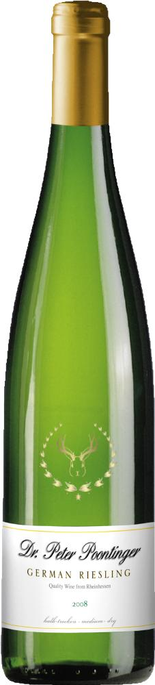 peter poontinger Review: 2008 Dr. Peter Poontinger Riesling
