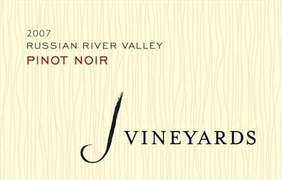 j vineyards 2007 rrv pinot noir Review: 2007 J Vineyards Pinot Noir Russian River Valley