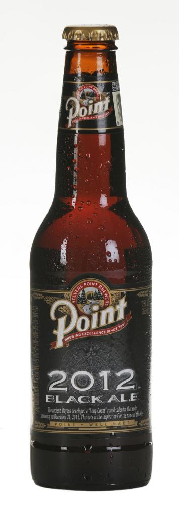 point brewing 2012 black ale Review: Point Brewing 2012 Black Ale