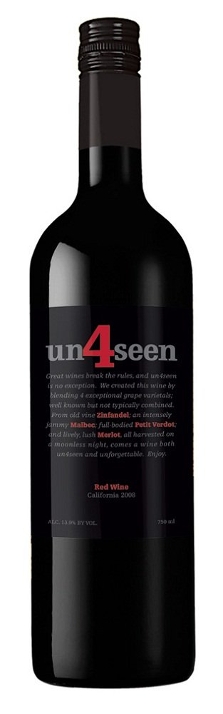 un4seen 2006 red wine california Review: 2008 un4seen Red Wine California