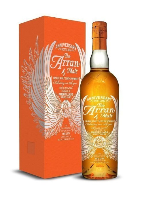 isle of arran 15th Anniversary Release Review: Isle of Arran 15th Anniversary Single Malt Whisky