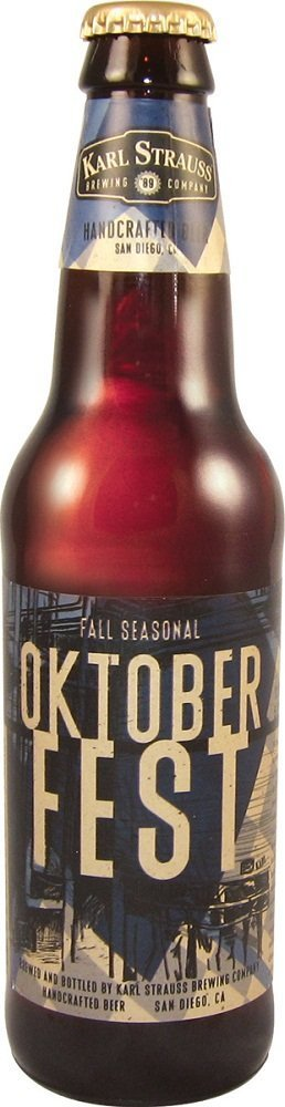 karl strauss oktoberfest Review: Karl Strauss Oktoberfest Seasonal Beer