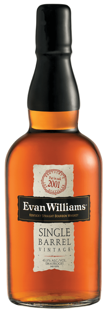 evan williams single barrel 2001 Vintage Review: Evan Williams Single Barrel Bourbon 2001 Vintage