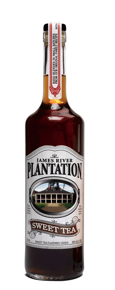james river plantation tea vodka Review: James River Plantation Sweet Tea Vodka