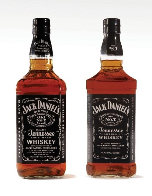PRN12 JACK DANIEL DISTILLERY BOTTLE 1yHigh Jack Daniels Changes Its Label and Bottle