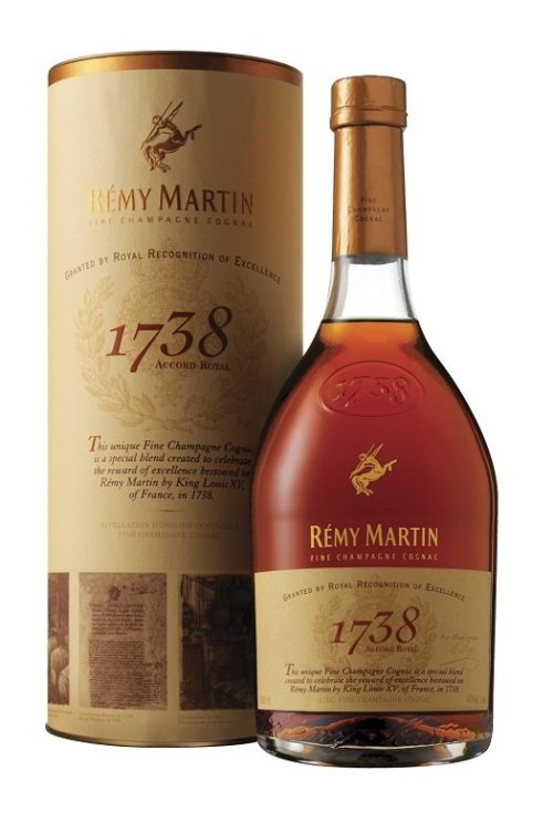 remy maritn 1738 accord royal Review: Remy Martin 1738 Accord Royal Cognac