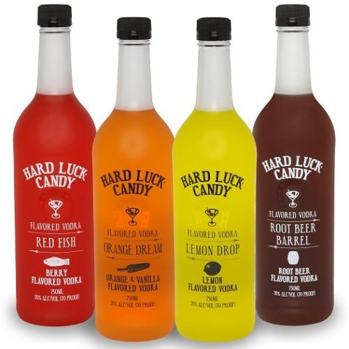 hard luck candy vodka Review: Hard Luck Candy Flavored Vodkas