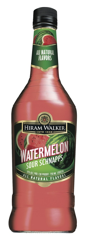 Hiram Walker Watermelon Review: Hiram Walker Watermelon Sour Schnapps