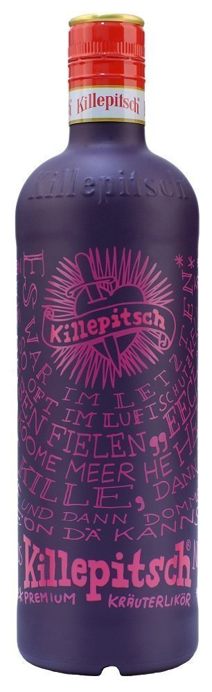 Killepitsch Design bottle Review: Killepitsch Krauterlikor Herbal Liqueur