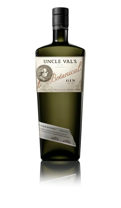 uncle vals gin Review: Uncle Vals Botanical Gin