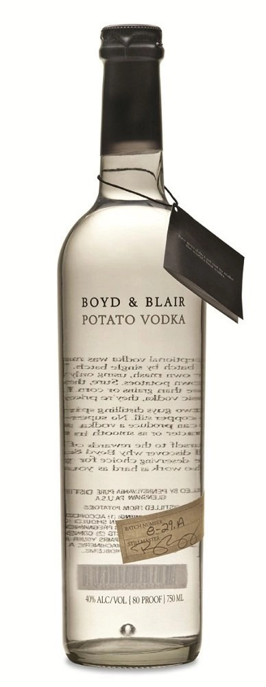 Boyd and Blair vodka Review: Boyd & Blair Potato Vodka