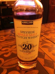 kirkland speyside 20 years old