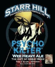 Starr Hill Psycho Kilter 124x150 Review: Starr Hill Saison and Psycho Kilter
