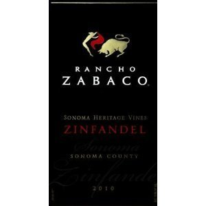 rancho zabaco zinfandel sonoma heritage vines Review: 2011 Rancho Zabaco Zinfandel Sonoma Heritage Vines Sonoma County