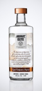 absolut elyx 138x300 Review: Absolut Elyx Vodka