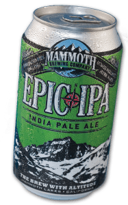 EPIC ipa 187x300 Review: Mammoth Brewing Company EPIC IPA