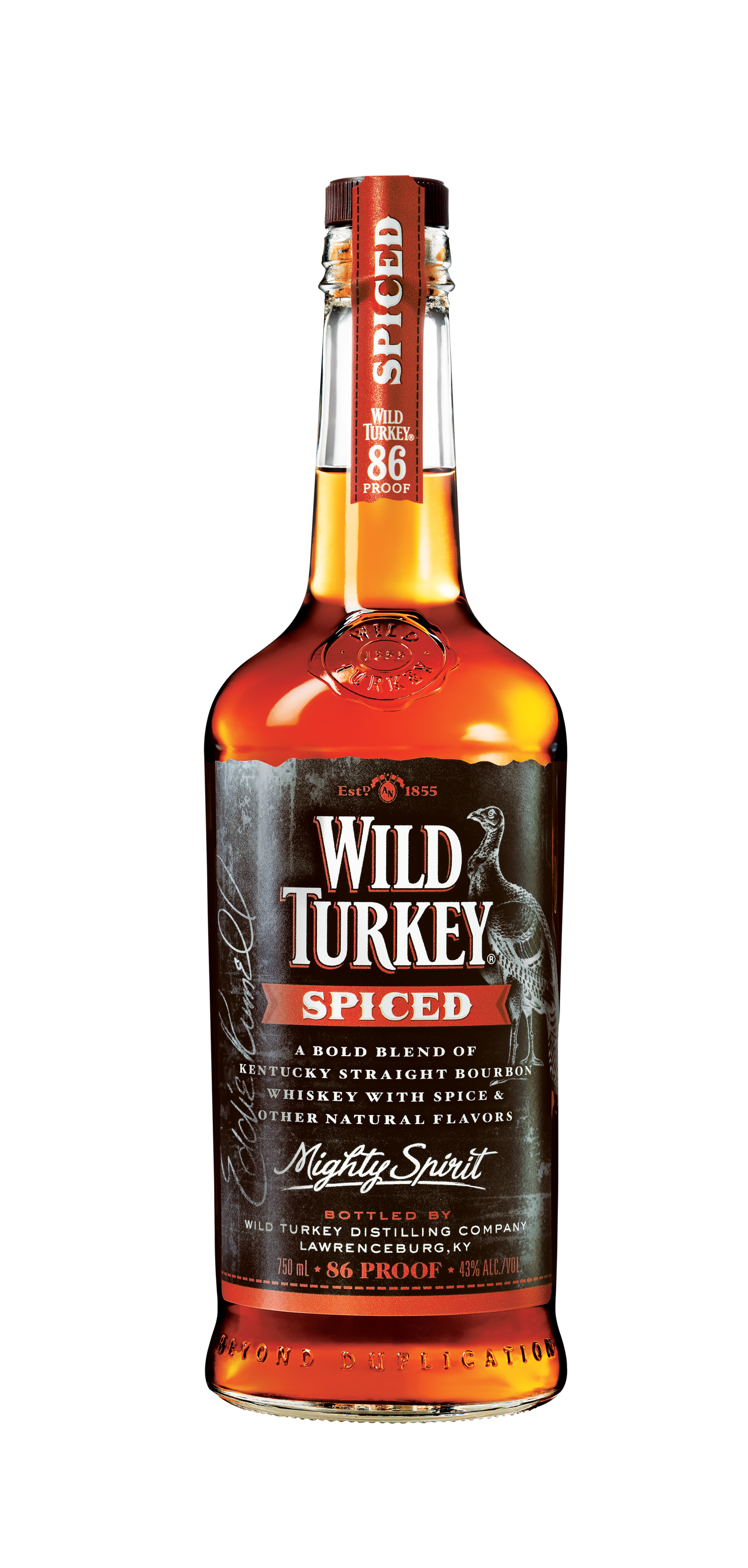 Review wild turkey spiced drinkhacker for Hot tea with whiskey