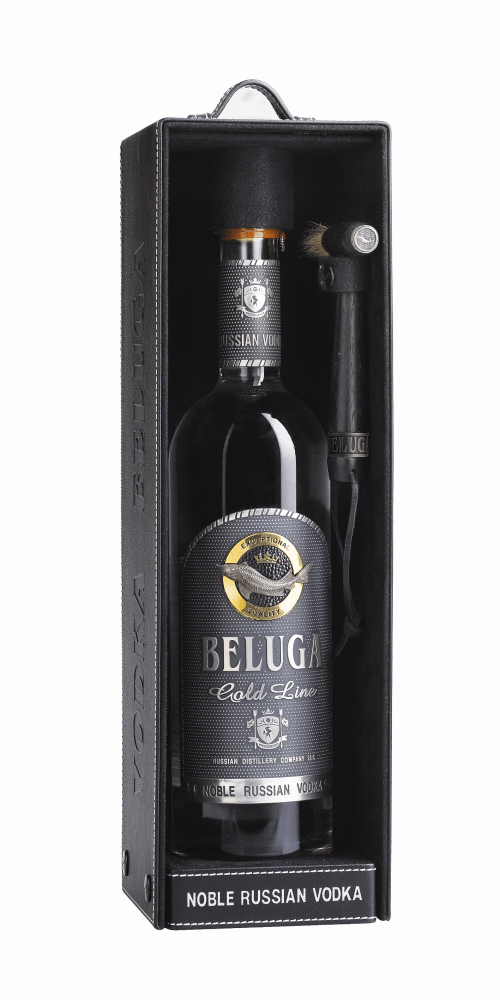 Beluga Gold Line Leather Case 525x1050 Review: Beluga Gold Line Noble Vodka