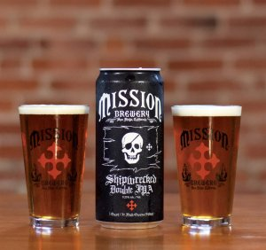 mission shipwrecked 300x282 Review: Mission Brewery El Conquistador and Shipwrecked Beers