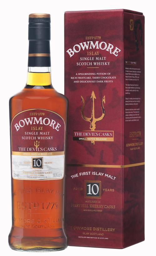 bowmore devils casks 525x864 Review: Bowmore Devils Casks 10 Years Old
