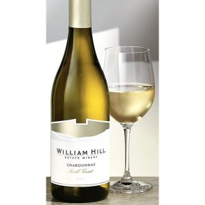 william hill chard 300x300 Review: 2012 William Hill North Coast Chardonnay and Cabernet Sauvignon