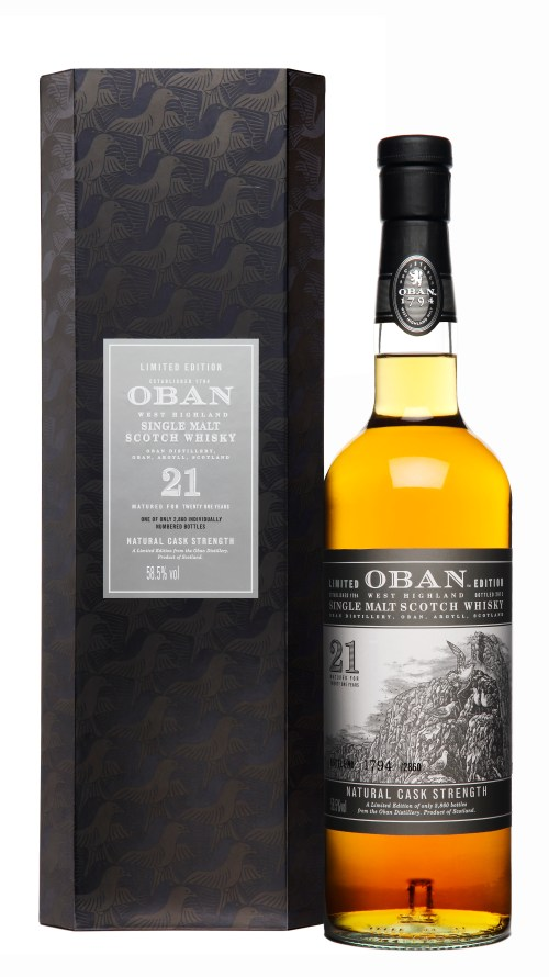 Oban21 bottlebox High Res 525x935 Review: Oban 21 Years Old Limited Edition 2013