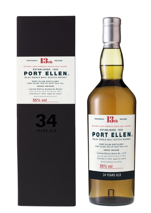 Port Ellen 34yo 2013 High Res 525x742 Review: Port Ellen 34 Years Old Limited Edition 2013