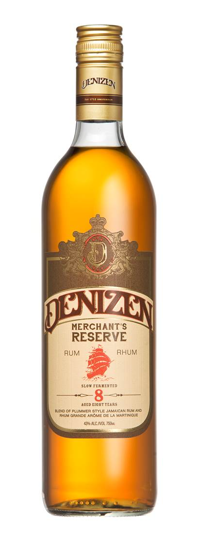 Denizen Merchants Reserve Bottle Shot Review: Denizen Merchants Reserve 8 Years Old Rum