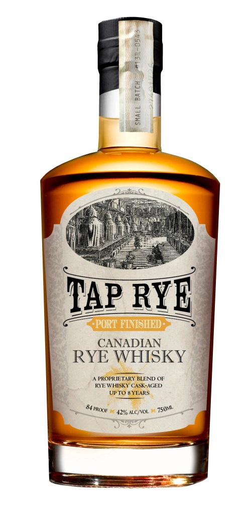 Tap rye White 525x1100 Review: Tap Rye Port Finished Canadian Rye Whisky