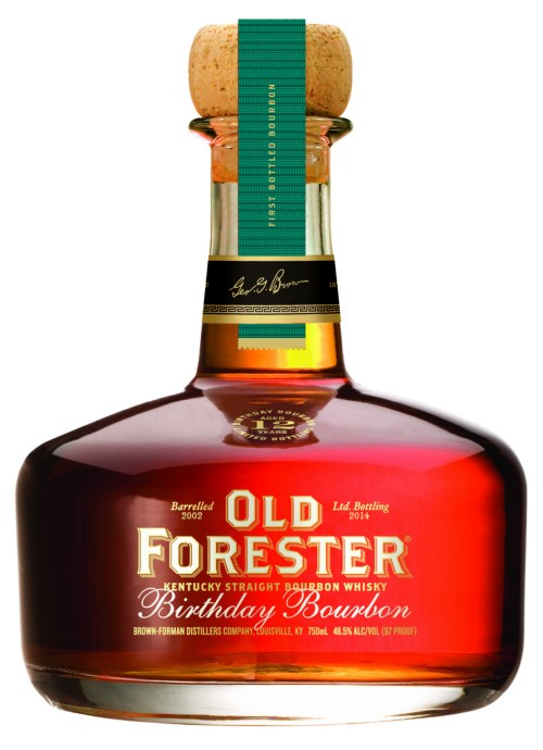 old forester birthday bourbon 2014 525x725 Review: Old Forester Birthday Bourbon 2014 Edition