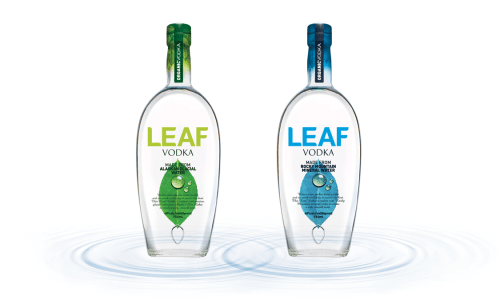 LEAF Vodka MediaKitAssets 2SKUs 525x315 Review: Leaf Vodka   Alaska and Rocky Mountain Expressions