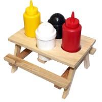 Picnic Table Condiment Set   Drinkstuff