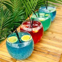 Glass Cocktail Fish Bowl 92oz / 2.6ltr | bar@drinkstuff ...