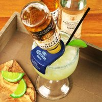 CoronaRita Bottle Holder & Schooner Glass | Corona ...